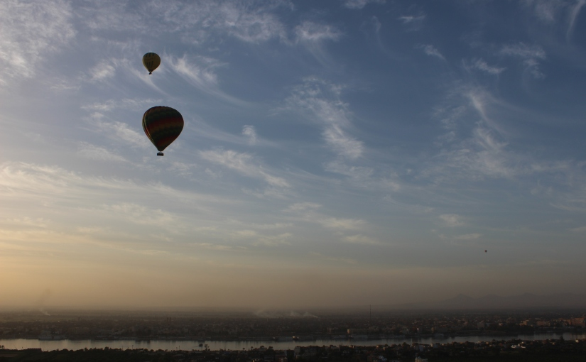 Luxor from the sky: Hot air ballooning over theNile