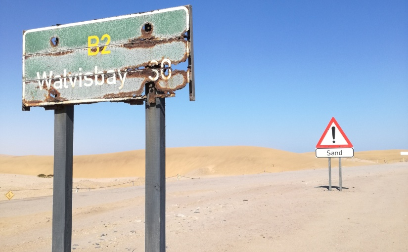 Namibia: The sand and thesea