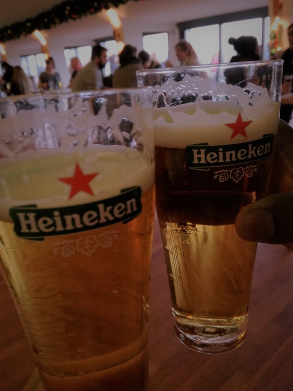 At the Heineken Experience